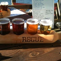 Photo taken at Rogue Ales Public House by Zeke S. on 1/17/2013