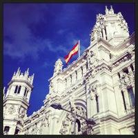 Photo taken at Palace of Communication by Felipe L. on 3/18/2013