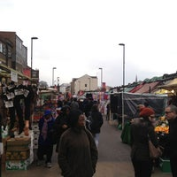 Photo taken at Ridley Road Market by Andrew M. on 3/30/2013