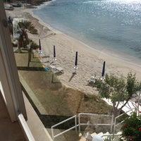 Photo taken at Hotel dei Pini Alghero by Dott M. on 5/21/2015