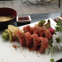 Photo taken at Akki Sushi by Uygur Ö. on 11/2/2012