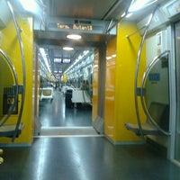 Photo taken at Estação Butantã (Metrô) by Akira S. on 5/5/2013