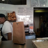 Photo taken at Bony's Bagels by Aleksandr Z. on 11/2/2012