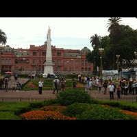 Photo taken at Plaza de Mayo by Marcos L. on 11/18/2012