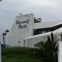Photo taken at Seawolf Park by Robert E. on 10/31/2013