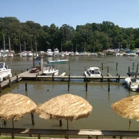 Photo taken at Deep Creek Restaurant and Marina by Beeprb B. on 7/4/2013