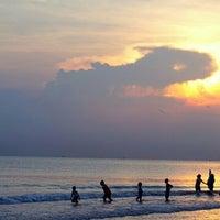 Photo taken at Pantai Alam Indah (PAI) Tegal by Luna S. on 5/31/2015