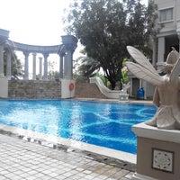 Photo taken at Waterplace Swimming Pool by Jefta H. on 2/2/2014