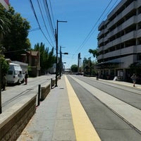 Photo taken at SACRT Light Rail 16th St Station by Marcus A. on 7/8/2016