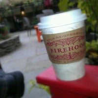 Photo taken at Firehook Bakery by Ogun H. on 10/1/2012