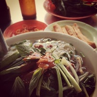 Photo taken at Phở Bắc Hải by Brian Q. on 12/1/2012