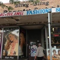 Photo taken at Bling Bling Hair Supply by Amy R. on 6/26/2013