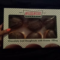 Photo taken at Krispy Kreme Doughnuts by Mz J. on 6/2/2015