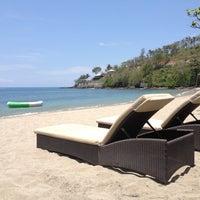 Photo taken at Sheraton Senggigi Beach Resort by Wilson T. on 10/28/2012