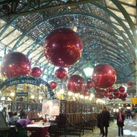 Photo taken at Covent Garden Market by Aakash B. on 11/19/2012