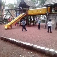 Photo taken at Parque de la China by Miguel E. on 7/4/2013