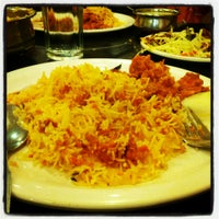 Photo taken at Meghana Foods by Aravind D. on 2/17/2013