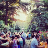 Photo taken at Café am Neuen See by Michael P. on 7/25/2013