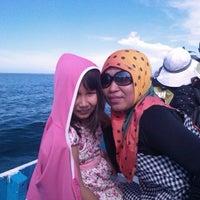 Photo taken at Pulau Dutungan by Bush H. on 5/18/2014