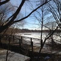 Photo taken at Lake Nokomis Fishing Dock by SemiToxic on 1/20/2013