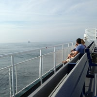 Photo taken at The Block Island Ferry by Chris T. on 6/18/2013