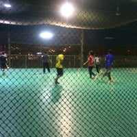 Photo taken at Galaxy Futsal Bangi by Afiqq A. on 6/21/2016