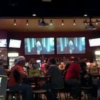 Photo taken at Buffalo Wild Wings by Theresa F. on 10/22/2012