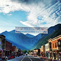 Photo taken at Telluride, CO by Telluride B. on 7/4/2013