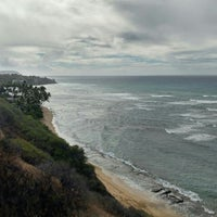 Photo taken at Diamond Head Scenic Point by Mike D. on 7/5/2016