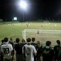 Photo taken at Corbett Soccer Stadium by Alec M. on 10/17/2012