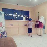 Photo taken at Bank BPD DIY cabang Pasar Stan by Aniek S. on 3/18/2016