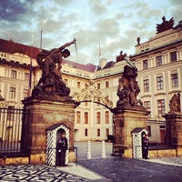 Photo taken at Prague Castle by Diogo H. on 9/24/2013