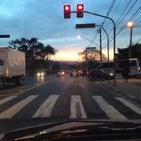 Photo taken at Morro do S by Matthews M. on 7/18/2014