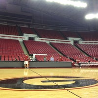 Photo taken at Stegeman Coliseum by Jordan O. on 2/21/2013
