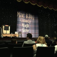 Photo taken at The Mac King Comedy Magic Show by Gregg P. on 4/13/2016