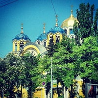 Photo taken at St Volodymyr's Cathedral by Ксения С. on 5/11/2013