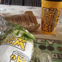 Photo taken at Which Wich Superior Sandwiches by James B. on 1/14/2014