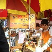 Photo taken at 씨앗호떡 by Jane R. on 5/27/2013