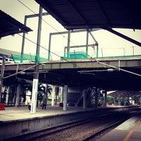 Photo taken at KTM Line - Bandar Tasik Selatan Station (KB04) by Erwin T. on 9/29/2012