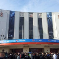 Photo taken at Earls Court Exhibition Centre by Stephen M. on 9/28/2012