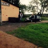 "Photo taken at LDz   Dzelzceļa stacija ""Milzkalne"" by Emīls H. on 9/24/2016"