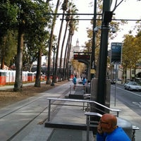 Photo taken at VTA Lightrail North Saint James Station by Louis P. on 10/24/2015