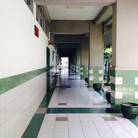 Photo taken at SMA Kristen Petra 1 by Regina Y. on 1/12/2014