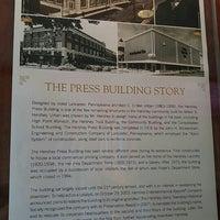 Photo taken at Hershey Press Building by Matt N. on 5/28/2016
