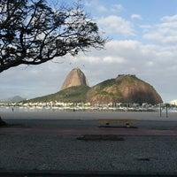 Photo taken at Enseada de Botafogo by Felipe R. on 7/16/2013