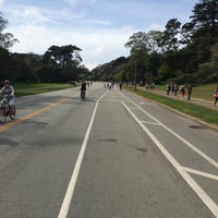 Photo taken at Golden Gate Park Skate and Bike by Josh A. on 3/15/2015