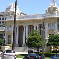 Photo taken at Riverside Superior Court - Hall of Justice by Philip C. on 4/15/2014