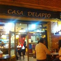 Photo taken at Casa Delapio by Quina P. on 10/11/2012