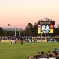 Photo taken at Buck Shaw Stadium by Matthew T. on 7/28/2013
