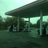Photo taken at Lukoil by Anna B. on 10/21/2012